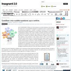 QuestBase: crea e pubblica questionari, quiz e verifiche.
