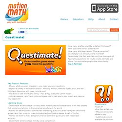 Questimate! - the estimation game where *you* make the questions