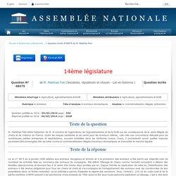 JO ASSEMBLEE NATIONALE 04/03/14 Au sommaire: QE 48475 animaux - animaux domestiques - commercialisation illégale. prévention