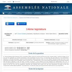 JO ASSEMBLEE NATIONALE 27/05/14 Au sommaire: QE 54823 agriculture - produits alimentaires - qualité. Conseil économique, social et environnemental. rapport. propositions
