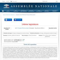 JO ASSEMBLEE NATIONALE 15/12/15 Au sommaire: QE 74440 déchets, pollution et nuisances - usines d'incinération - Fos-sur-Mer. contrat. modification. perspectives
