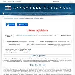 JO ASSEMBLEE NATIONALE 24/05/16 Au sommaire: QE 88057 agriculture - produits alimentaires - circuits courts. mission d'information. rapport. préconisations