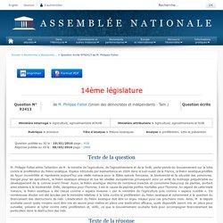 JO ASSEMBLEE NATIONALE 08/03/16 Au sommaire: QE 92413 animaux - frelons asiatiques - prolifération. lutte et prévention