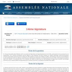 JO ASSEMBLEE NATIONALE 14/06/16 Au sommaire: QE 94101 professions de santé - vétérinaires - police sanitaire. réglementation