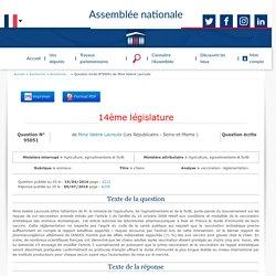 JO ASSEMBLEE NATIONALE 05/07/16 Au sommaire: QE 95051 animaux - chiens - vaccination. réglementation