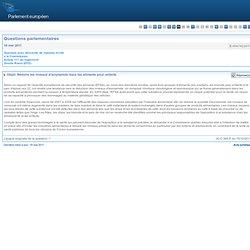Réduire les niveaux d'acrylamide dans les aliments pour enfants - E-004742/2011