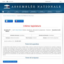 Question n°80643 - Assemblée nationale