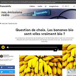 FRANCE INFO 19/03/17 Question de choix. Les bananes bio sont-elles vraiment bio ?