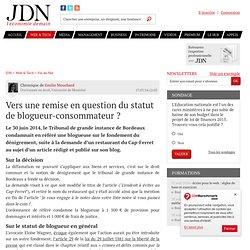 Vers une remise en question du statut de blogueur-consommateur?