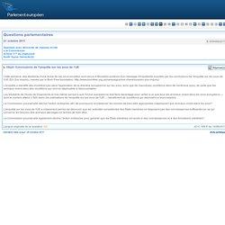 PARLEMENT EUROPEEN - Réponse à question:E-009488/2011 Conclusions de l'enquête sur les zoos de l'UE