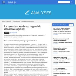 Interview d'un expert (historien) de la question kurde