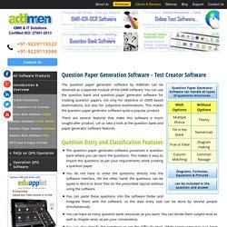 test generating software