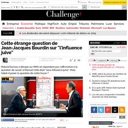 "Cette étrange question de Jean-Jacques Bourdin sur ""l'influence juive"""