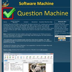 Question Machine