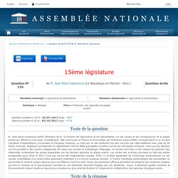 JO ASSEMBLEE NATIONALE 03/10/17 Au sommaire: QE 170 élevage - Prévention des épisodes de grippe aviaire - Prévention des épisodes de grippe aviaire