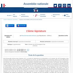 JO ASSEMBLEE NATIONALE 04/08/20 Au sommaire : QE 28501 agroalimentaire - Situation des AOP fromagères et des producteurs laitiers face au covid-19