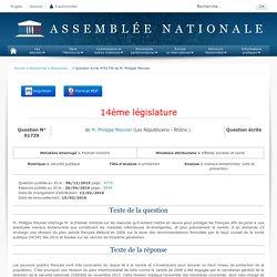 JO ASSEMBLEE NATIONALE 26/04/16 Au sommaire: QE 91739 sécurité publique - protection - menace bioterroriste. lutte et prévention