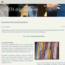 La question des manuels scolaires - Adben Aix-Marseille