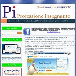 Un servizio per test e questionari tutto italiano: QuestBase - Professione insegnante