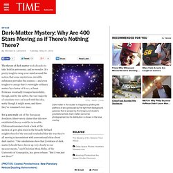 Dark-Matter Theory Questioned by Astronomers' New Findings