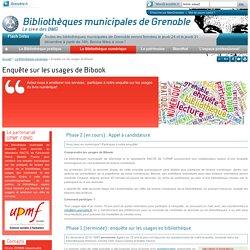 BMG - Questionnaire sur la Bibliothèque numérique
