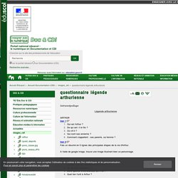 questionnaire légende arthurienne — Documentation (CDI)