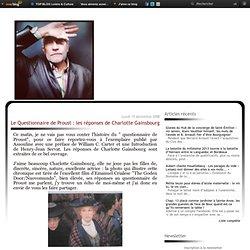 Le Questionnaire de Proust : les réponses de Charlotte Gainsbourg
