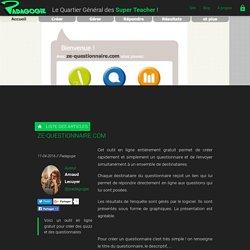 ze-questionnaire.com - Padagogie