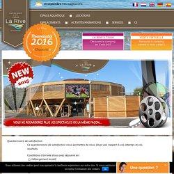 Camping La Rive 5 étoiles Biscarrosse Lac Landes (40) Aquitaine