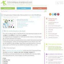 5 plugins Wordpress Quiz et Qcm pour des questionnaires interactifs