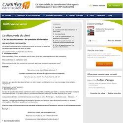 Méthode de vente-L'art du questionnement - les questions d'information - Carrière Commerciale - Page 4
