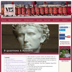 9 questions à Auguste, empereur romain