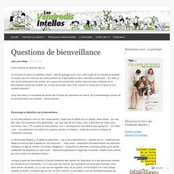 Questions de bienveillance