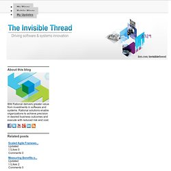 41 questions every business leader should ask (The Invisible Thread)