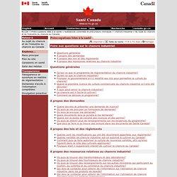 SANTE CANADA 11/02/11 Foire aux questions sur le chanvre industriel