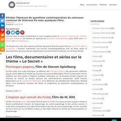 Réviser l'épreuve de questions contemporaines du concours commun de Sciences Po avec quelques films – Concours IEP