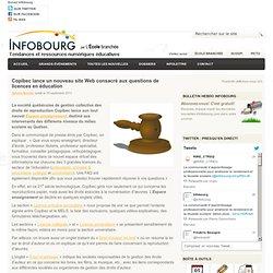 Copibec lance un nouveau site Web consacré aux questions de licences en éducation