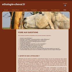 Foire Aux Questions (FAQ) - ethologie-cheval.fr