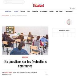 Dix questions sur les évaluations communes