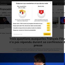 Trois questions auxquelles François Fillon n'a pas répondu durant sa conférence de presse