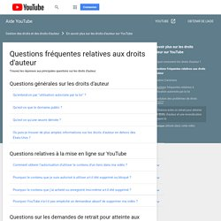 Questions fréquentes - Aide YouTube