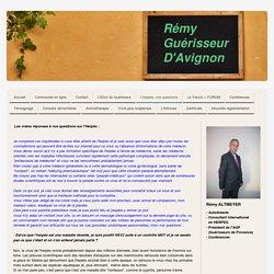Vos questions sur l'Herpès - Rémy Guérisseur d'Avignon