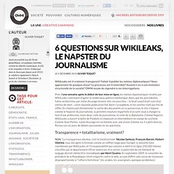 [2010] Le Napster du journalisme » Article » OWNI, Digital Journalism