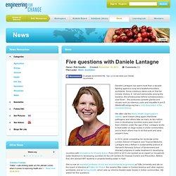 Five questions with Daniele Lantagne