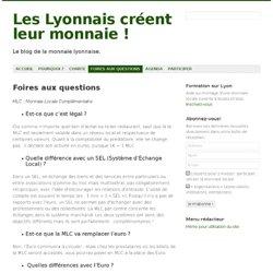Foires aux questions » Les Lyonnais créent leur monnaie !