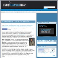6 Questions: Alan Portela, AirStrip