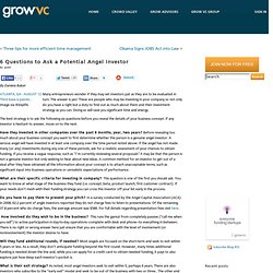 how to ask angel investors for money