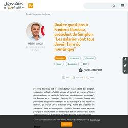 """Quatre questions à Frédéric Bardeau, président de Simplon: """"Les salariés vont tous devoir faire du numérique"""""""