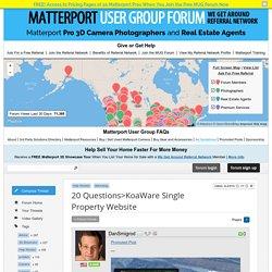 20 Questions>KoaWare Single Property Website