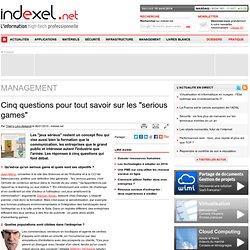 """Cinq questions pour tout savoir sur les """"serious games"""""""